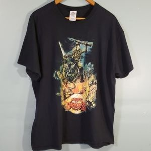 army of darkness t shirt SZ XL color black